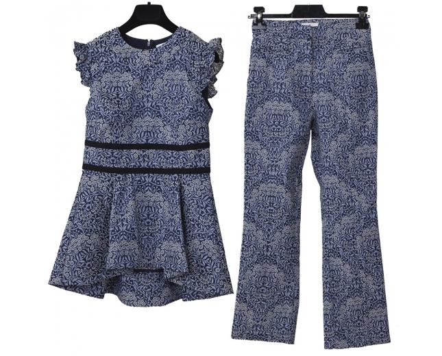 Erdem Conjunto Pantalón y Top Floral