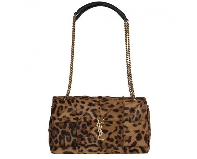 Saint Laurent Bolso Jamie Medium Leopard