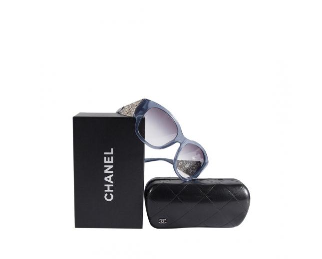 Chanel Gafas de sol Bijoux Azules