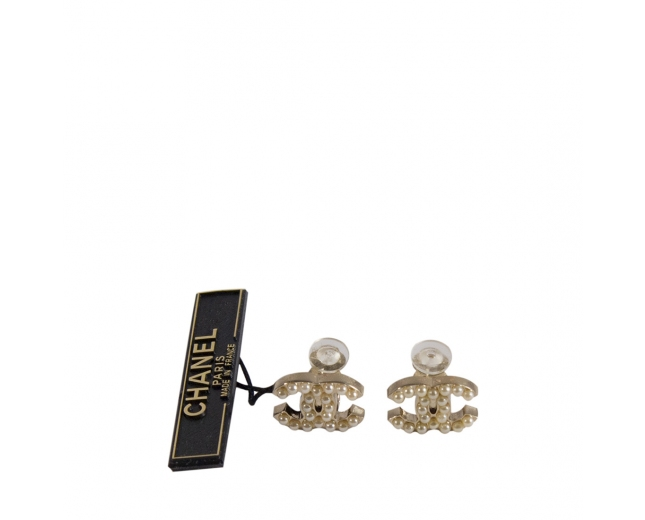 Chanel Pendientes CC