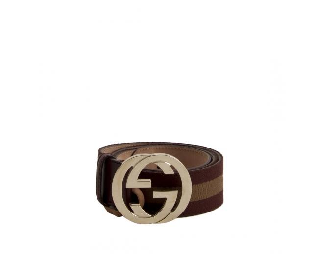 Gucci Cinturón Lona GG T 85