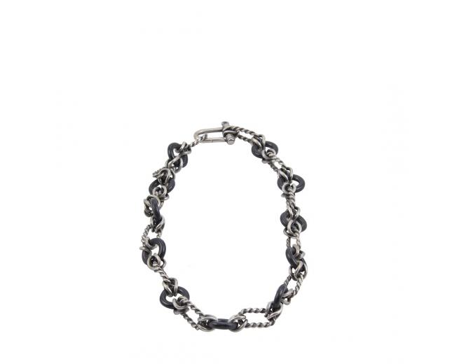 Gucci Collar Eslabones Plata