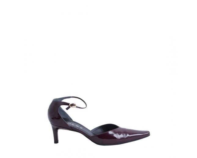 Loewe Zapatos Charol Burdeos T 38