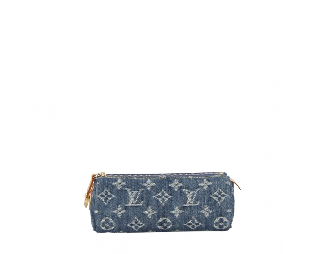 LV Estuche Denim Monogram