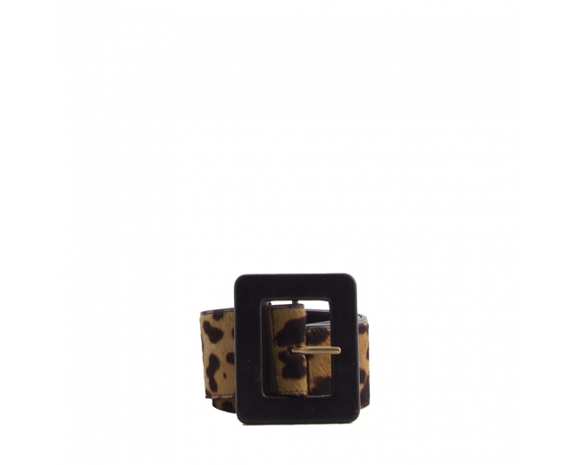 YSL Cinturón Leopardo T 80