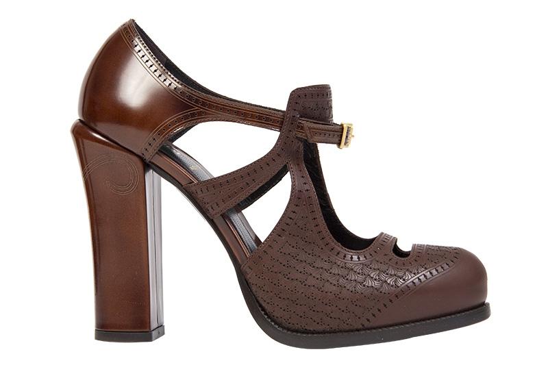 ba57c07ef Fendi Zapatos Marrones T 40 - Tienda de Bolsos de Marca online