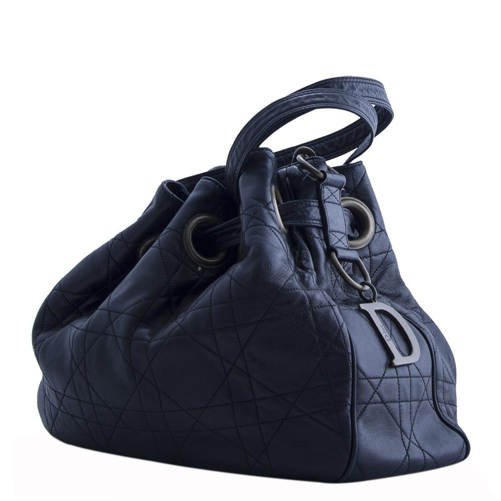 Bolso Dior Bolso Saco Cannage Negro Tienda De Bolsos De