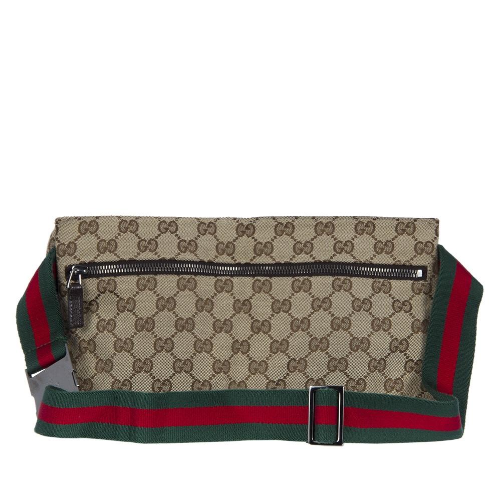 Gucci Pochete Con Cinturon Canvas Tienda De Bolsos De