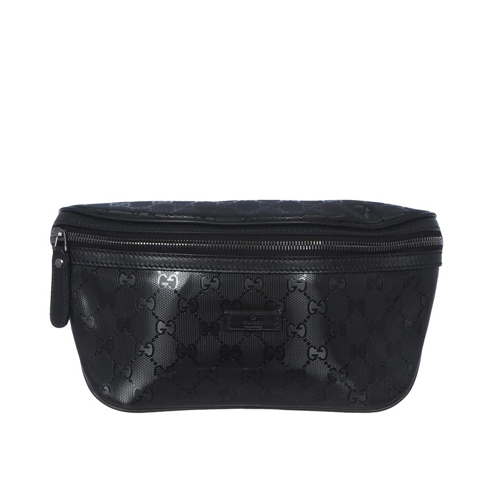 9bfb53599 Gucci Pochette Con Cinturon Negro - Tienda de Bolsos de Marca online
