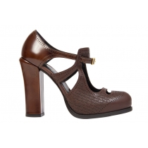 Fendi Zapatos Marrones T.40