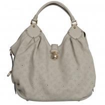 LV bolso Mahina Leather GM