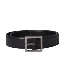 Gucci cinturón piel negro T 95