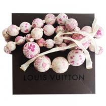 LV Collar Bolas Floral Desfile