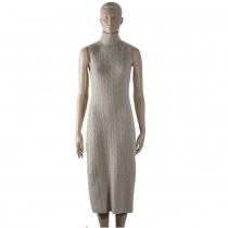 Ralph Lauren Vestido Punto T M
