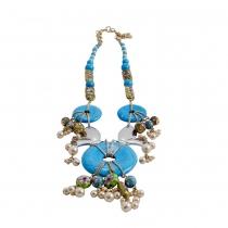 Dior Collar Turquesa y Esmalte