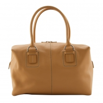 Tod´s Dado Box Satchel Natural