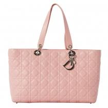 Dior Bolso Cannage Rosa