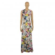 Erdem Vestido Largo Floral T 38