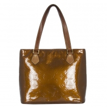 LV Bolso Houston Vernis Bronce