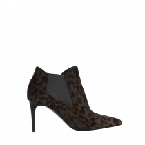 Saint Laurent Botines Leopardo T 40