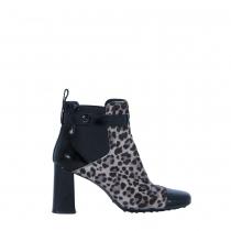 Tod´s Botines Leopardo y Charol T 40