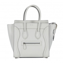 Celine Mini Luggage Blanco