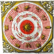 Hermés Pañuelo Astrologie - Dies et Hore