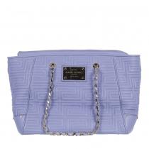 Versace Bolso Piel Lila