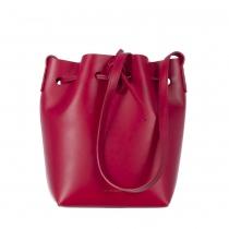 Mansur Gavriel Mini Bucket Rojo