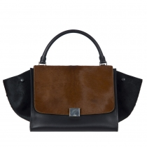 Celine Trapeze Medium Bicolor