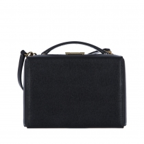 Mark Cross Grace Box Negro