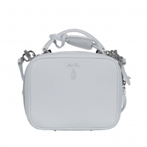 Mark Cross Bolso Laura Mini Blanco