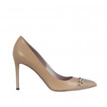 Gucci Zapatos Salón Crema Tachuelas 38