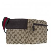Gucci Pochete con Cinturón Canvas