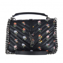 YSL Bolso College Monogram Floral