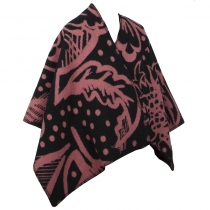 Burberry Poncho Graphic