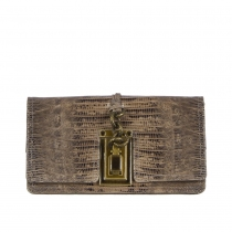 Bottega Veneta Clutch Lizard Antique