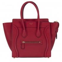 Celine Micro Luggage Rojo