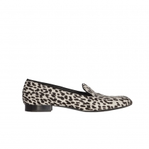 Saint Laurent Mocasines Snow Leopard 40
