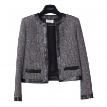 Saint Laurent Chaqueta Tweed T 38