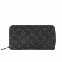 LV Cartera Zippy Denim