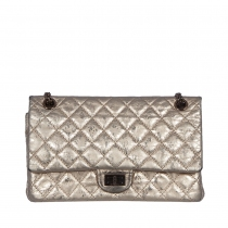 Chanel Bolso 2.55 Metalic Aged Gold