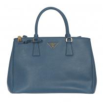 Prada Bolso Galleria Azul