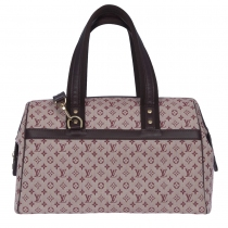 LV Bolso Josephine GM Mini Lin Cherry