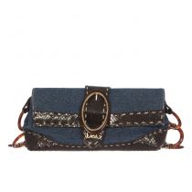 D&G Bolsito Denim Carey