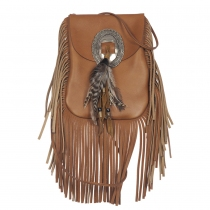 Saint Laurent Anita Crossbody Fringe