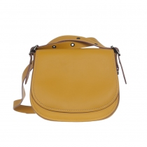 Coach Bolso Saddle 23 Amarillo