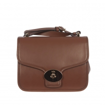 Coach Bolso Page Crossbody Marrón