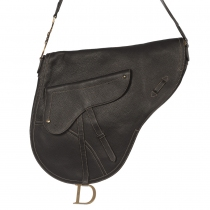 Dior Bolso Saddle Crossbody Negro