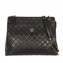 Chanel Bolso Negro Vintage